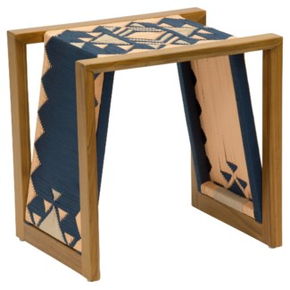 Inverness Side Table - Blue