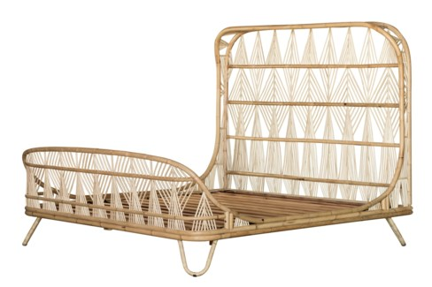 Ara King Bed - Natural
