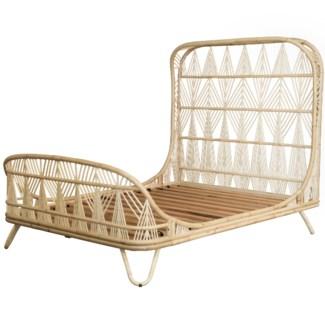 Ara Queen Bed - Natural