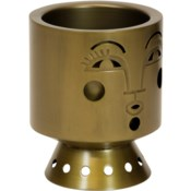 Justina Bette Planter - Brass
