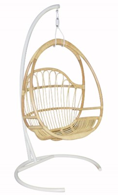 Justina Hanging Chair Base - White