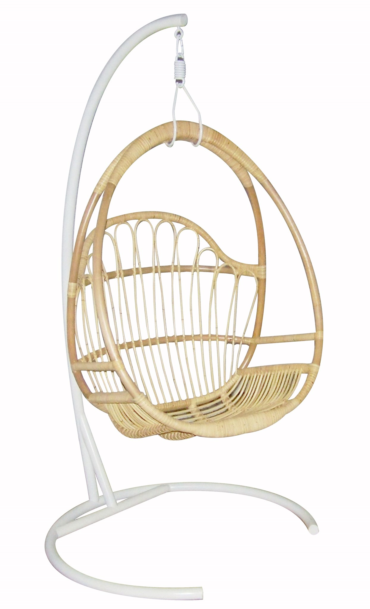 Justina Hanging Chair Base   White