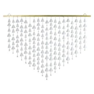 Kerani Wall Hanging Large - White