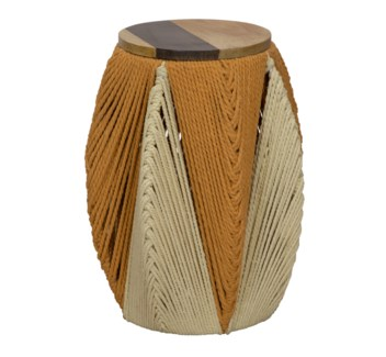 Justina Lala Tall Stool - Natural
