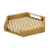 Justina Selva Tray - Natural
