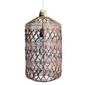 Vela Pendant - Small Antique Brass