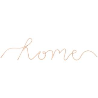 """Home"" Word Art"