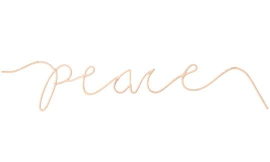 """Peace Word Art"