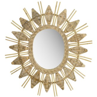 Justina Yala Mirror - Natural
