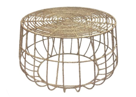 Jute Cocktail Table - Natural