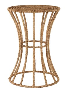 Jute Spool Table - Natural