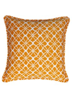 Monaco Pillow - Citrus on White
