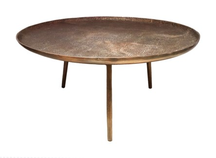Lake Cocktail Table - Antique Brass