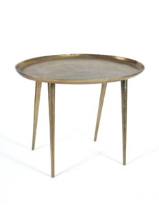 Lake Side Table - Large Antique Brass
