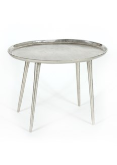 Lake Side Table (Small) - Pewter