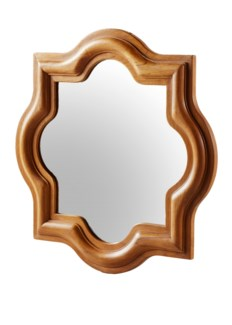 Master's Collection- Tudor Wall Mirror (teak)