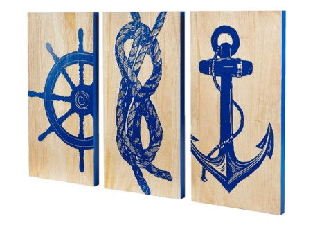 Marine Trio Panels (set of 3)