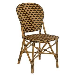 Pinnacles Side Chair - Natural/Black