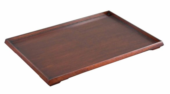 Turn Down Tray-Mahogany