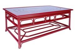 4-Season Regeant Coffee Table (Aluminum) - Antique Red