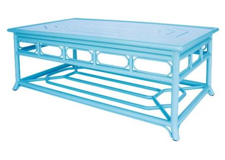 4-Season Regeant Coffee Table (Aluminum) - Blue