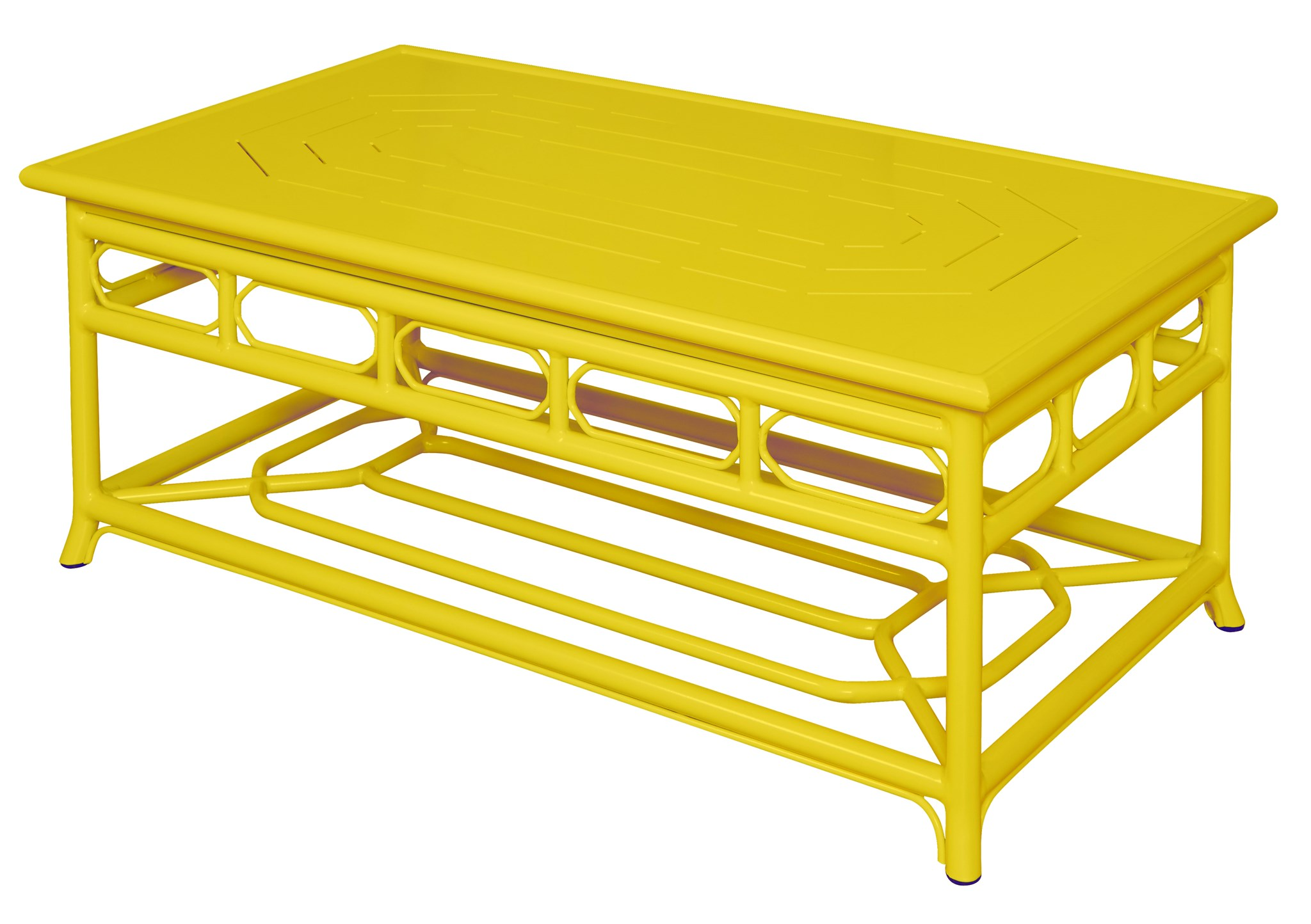 4 Season Regeant Coffee Table Aluminum Yellow seating Selamat