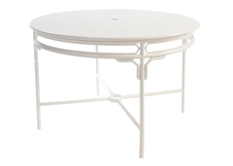 "4-Season Regeant 48"" Dining Table - Winter White"