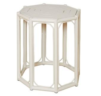 4-Season Regeant Spot Table (Aluminum) - White