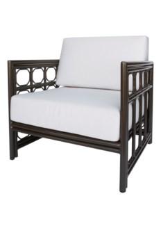 4-Season Regeant Lounge Chair (Aluminum) w/ Cushions - Bronze
