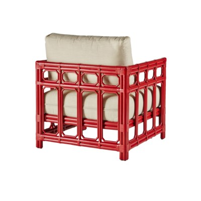Regeant Lounge Chair, Rattan - Antique Red - Regeant Lounge Chair, Rattan - Antique Red - Outdoor - Selamat
