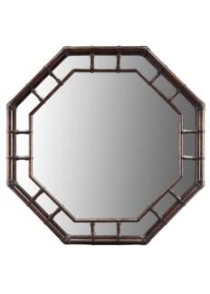 Regeant Octagonal Wall Mirror - Clove