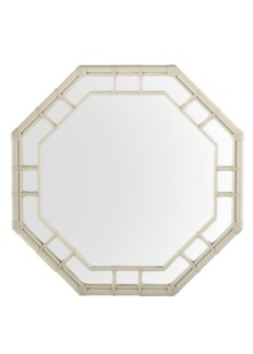 Regeant Octagonal Wall Mirror - White