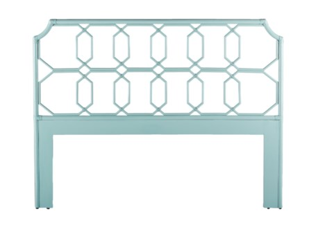 Regeant Queen Headboard - Light Blue