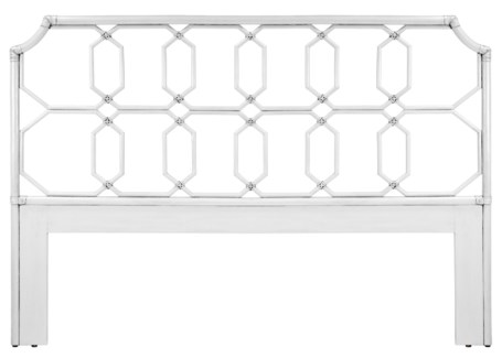 Regeant Queen Headboard - White