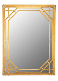 Regeant Rectangular Wall Mirror - Nutmeg