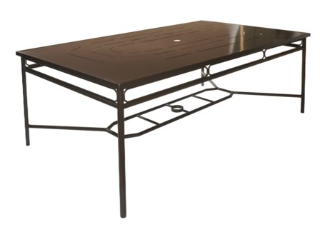 "4-Season Regeant Rectangular Dining Table (80""x46"") - Bronze"