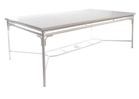 """4-Season Regeant Rectangular Dining Table (80""""x46"""") - White"""