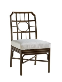 Regeant 4 Season Side Chair w/ Pillow - Bronze