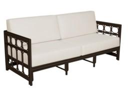 4-Season Regeant Sofa (aluminum) w/ Cushions - Bronze