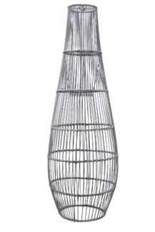 Ray Bamboo Large Pendant - Grey Wash