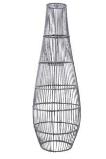 Ray Bamboo Large Pendant - Grey Wash