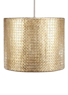 Seline Drum Pendant Light - Metallic