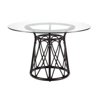 "Sona 48"" Dining Table Base - Clove"