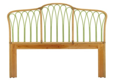 Sona Queen Headboard - Nutmeg/Kiwi