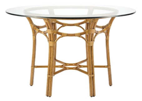 "Taylor 48"" Dining Table Base - Nutmeg"