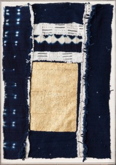 Created for Selamat Talisman is a piece made by textile artist Catherine Lisle. Inspired by natu...