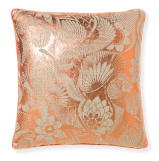 Florence Broadhurst Aubrey Rose Gold Cushion 20x20