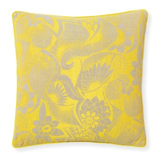 Florence Broadhurst Aubrey Sunshine Pillow 20x20