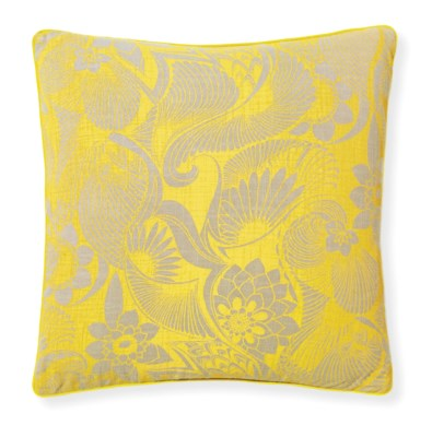 Florence Broadhurst Aubrey Sunshine Cushion 20x20