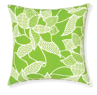 Rapee Riviera Lily Green Pillow 20x20 (Outdoor)